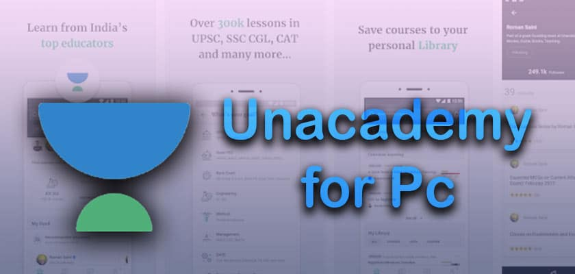 Unacademy App Download for PC